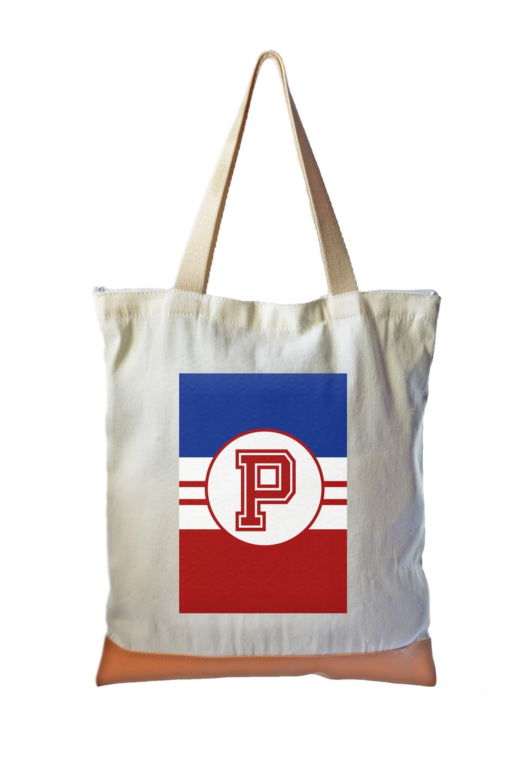 Tote Bag Sporty Initial P