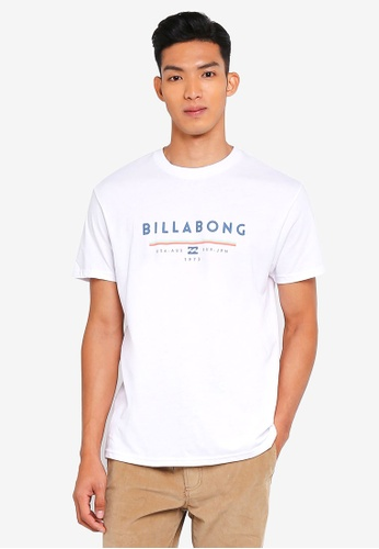 Billabong white Unity Tee B021BAAB268889GS_1