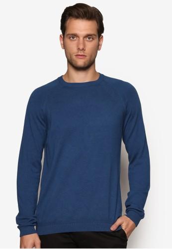 基本款羅紋領長袖衫,esprit 請人 服飾, 毛線衣