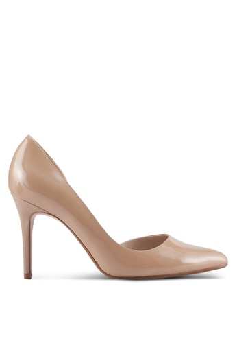 Mango pink Patent Leather Heel Shoes 2D695SH8607A98GS_1