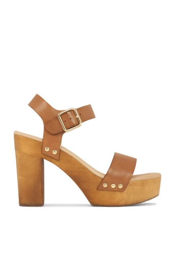 ROC Boots Australia brown Fleetwood Tan Wedge Sandal RO517SH76QPVHK_1