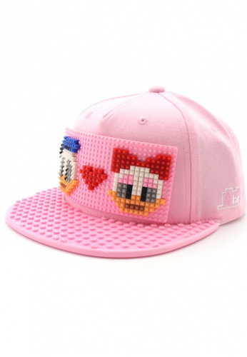 DOSSCAPS pink BRICKBRICK Donald & Daisy Basic Set - Pink (Small) 5B86FACFC67860GS_1