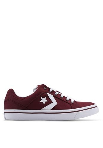 Converse red El Distrito You Got Next Ox Sneakers 6DE65SH9CC5A98GS_1