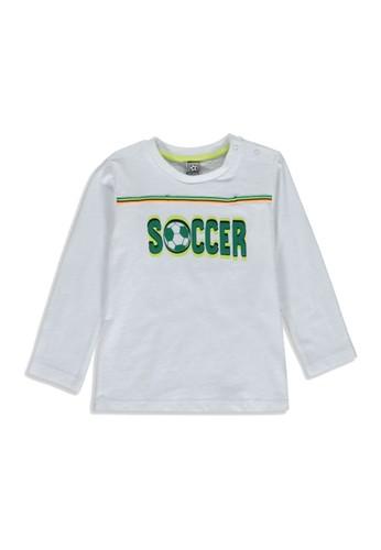LC Waikiki white Baby Boy?s Slogan Printed T-Shirt B3C30KABCEF851GS_1