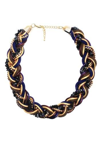 Istana Accessories Kalung Farida Fashion Necklace-Multi