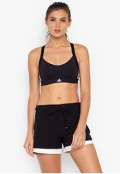adidas black adidas all me 3s light support sports bra 7B81FUS6E9582CGS_1