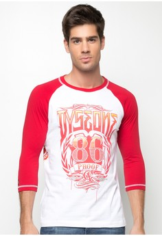 Raglan 3/4 Sleeves T-shirt