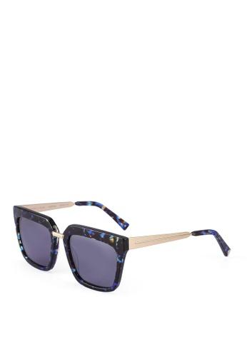 Kendall + Kylie blue Karissa Sunglasses 09254GL6867062GS_1