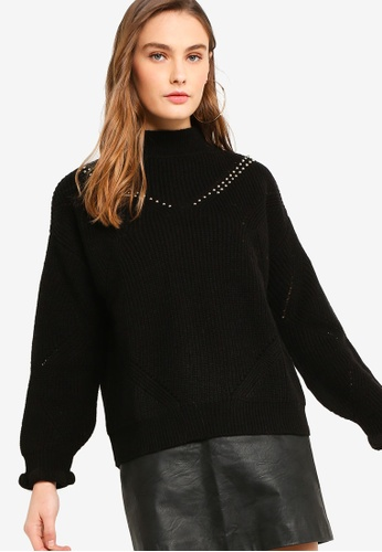 24a20191c5b Buy Guess Destiny Studded High Neck Sweater