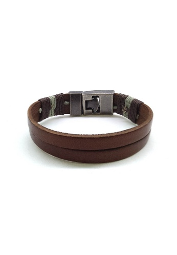 Her Jewellery brown Adolph Bracelet 64C76ACE5F4133GS_1