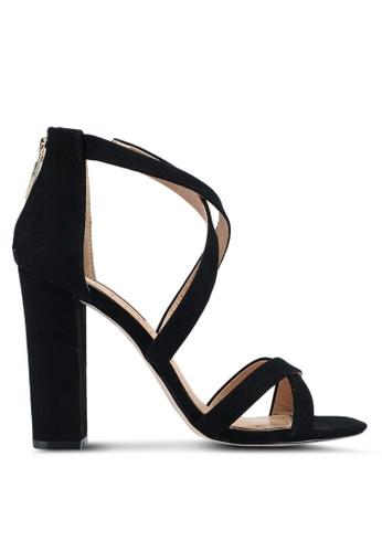 Miss KG black Faun Black Suedette Heels 05C7BSH119E13AGS_1