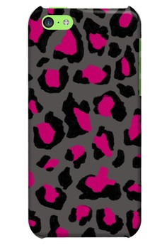 Funky Cheetah Glossy Hard Case for iPhone 5c