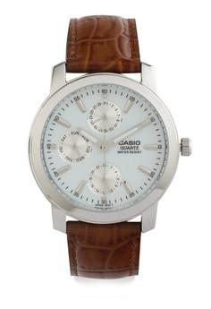 harga Casio Round Watch Man Analog Mtp-1192E-7A Zalora.co.id