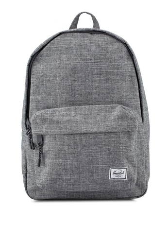 Herschel grey Classic Backpack 75155AC47B1E94GS_1