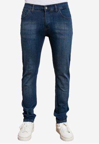 Trendyol navy Skinny Fit Jeans 5C7F8AAB40CA1BGS_1