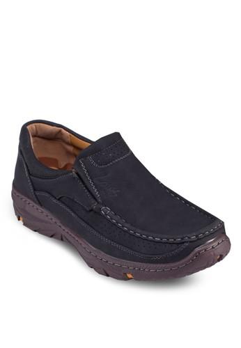 沖孔厚底樂福鞋, 鞋, esprit官網鞋