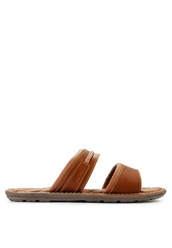 Watchout! Shoes brown Sandals Slip On E3B45SHDB07CC7GS_1