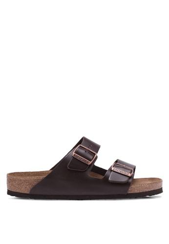 Birkenstock brown Arizona NU SFB Sandals BI090SH0RTJ2MY_1