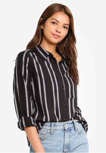 Cotton On black Casual Steph Shirt 470E9AAA36020BGS_1