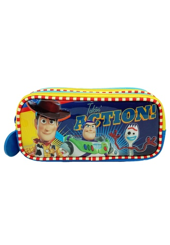 Toy Story blue Toy Story 4 Double Zip Pencil Bag 3875BKC78CCBA8GS_1