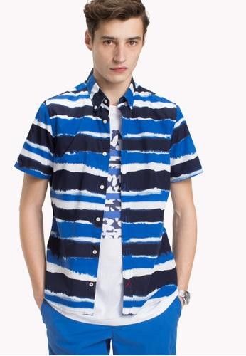 Watercolour Stripe Scarf - Sales Up to -50% Tommy Hilfiger OuxPLq