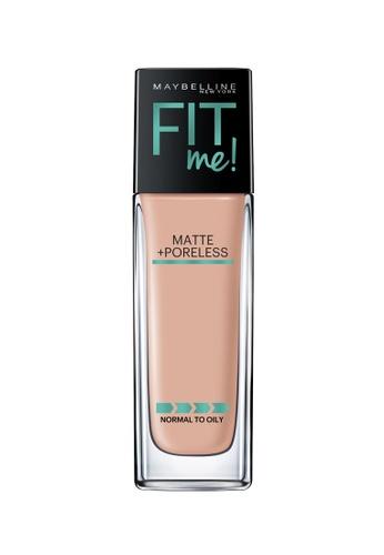 Maybelline Maybelline Fit Me Matte + Poreless Liquid Foundation (125 Nude Beige) MA671BE0RW7CMY_1