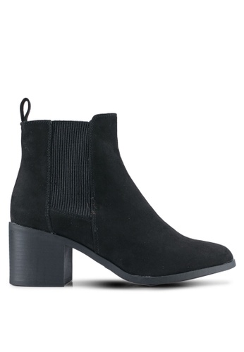 Dorothy Perkins black Black 'Marctic' Ankle Boots DO816SH0T066MY_1