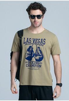 Las Vegas Boxing Champion Tee