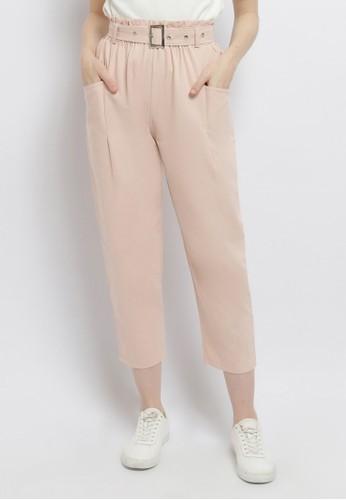Just Out pink Kemala Side Pocket Pants 8C2EEAA1CFD7FFGS_1