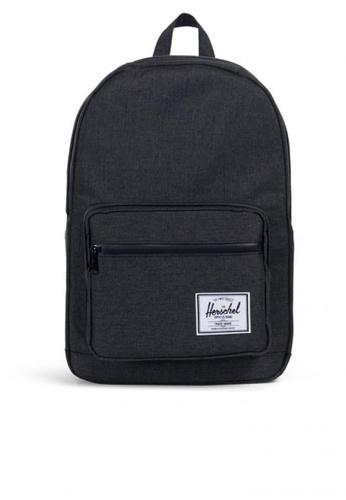 Herschel black Backpack Pop Quiz B72CCAC92F85AFGS_1