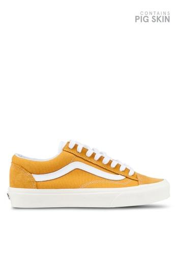 VANS yellow Style 36 Retro Sport Sneakers A5DBCSHE71DF3DGS_1