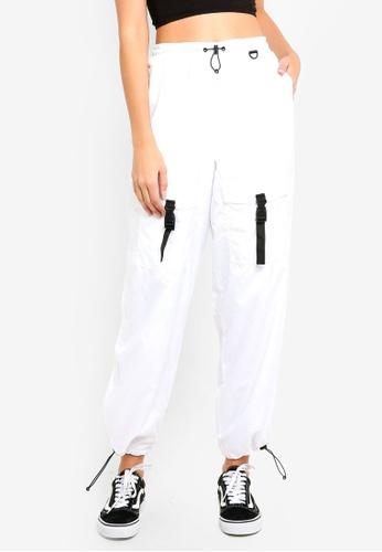 Factorie white The Woven Toggle Pants E4208AA628C15DGS_1