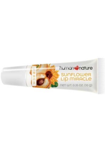 Human Nature white 10Ml Sunflower Lip Miracle - Peach D9092BEDBF3E2BGS_1