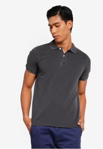 OVS 黑色 Basic POLO衫 A3BF6AA92A1410GS_1