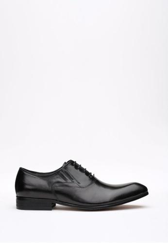 Kings Collection black Gladstone Shoes KI358SH69DFISG_1