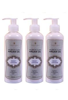 Moroccan Argan Oil Body Lotion 250ml Set of 3