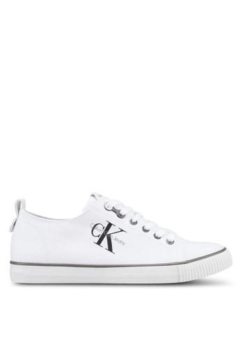 Calvin Klein white Arnold Sneakers 78F82SH4A0A871GS_1