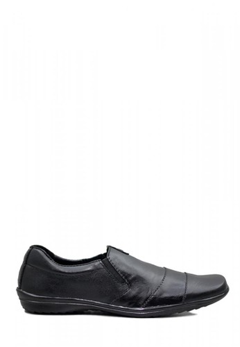 D-Island black D-Island Shoes Formal Slip On Luxury Genuine Leather Black CF1A1SHC2239CCGS_1