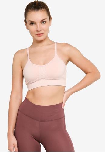 H&M pink Seamless Sports Bra D68E4US6E17DC5GS_1