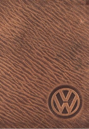 Volkswagen brown Volkswagen Genuine Leather Bi-Fold Wallet VO089AC04EJNMY_1