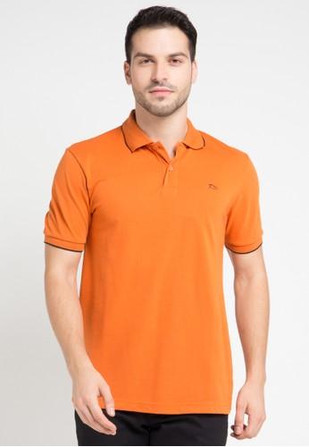 WALRUS orange Polo Shirts WA705AA0VSF6ID_1