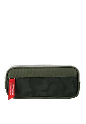 Twenty Eight Shoes green VANSA Double Pull Camouflage Series Pencil Case  VAK-A91024 F5B73KC89087EDGS_1