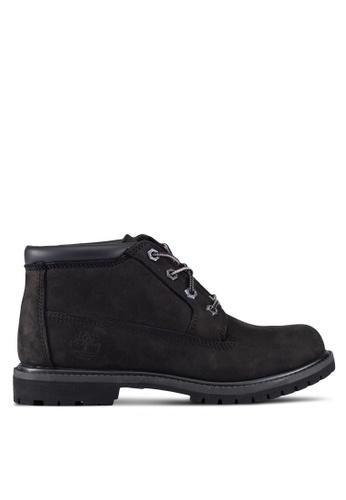 Timberland black Nellie Chukka Waterproof Boots TI063SH0RX4CMY_1