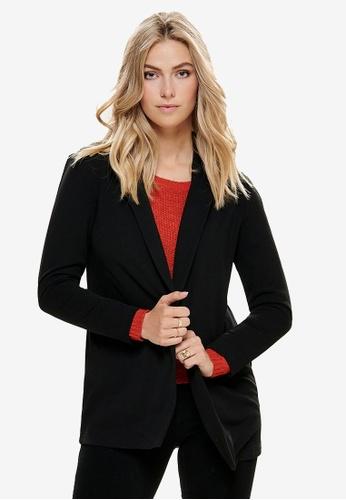 JACQUELINE DE YONG black Geggo Treats Long Sleeve Blazer D6B35AA59A470DGS_1