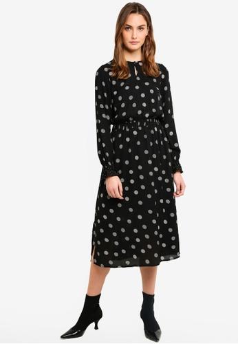Vero Moda black Bonn Calf Dress 0BDEFAA9CFE8CAGS_1