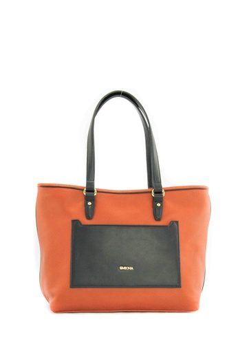 SEMBONIA brown SEMBONIA Synthetic Leather Tote Bag (Brown) SE598AC0SZHOMY_1
