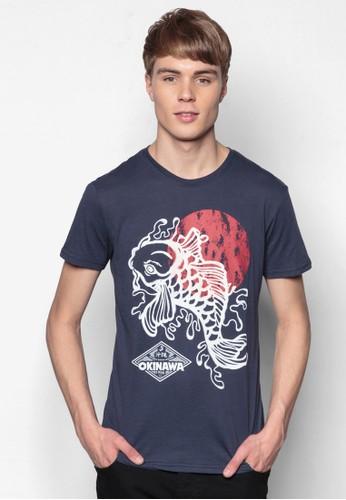 Bayu 和風esprit 香港 outlet印花TEE, 服飾, 印圖T恤