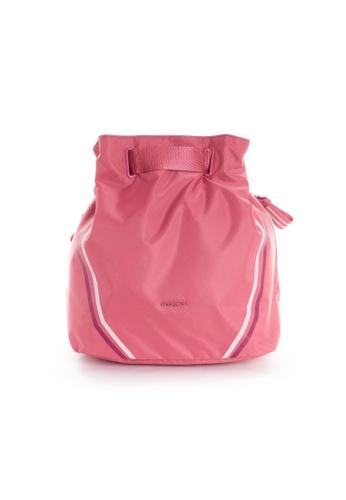 Hedgren pink Hedgren Women Advance 4 Way Backpack Shoulder Bag Baroque Rose FBC10ACBBC766CGS_1