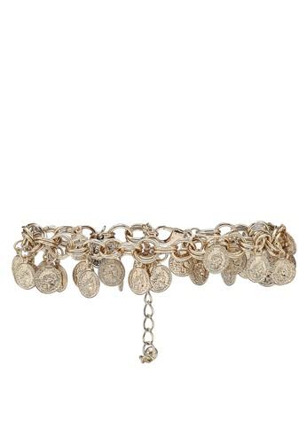 NATALIE & PEPPER gold Chain Bracelet 1D4EAACE00A548GS_1