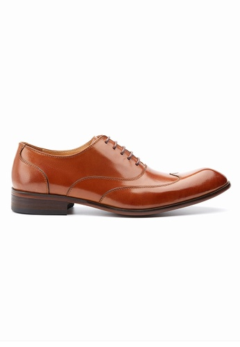 Kings Collection brown Hundley Brogue Lace Up Shoes 44A96SH14EA6D8GS_1